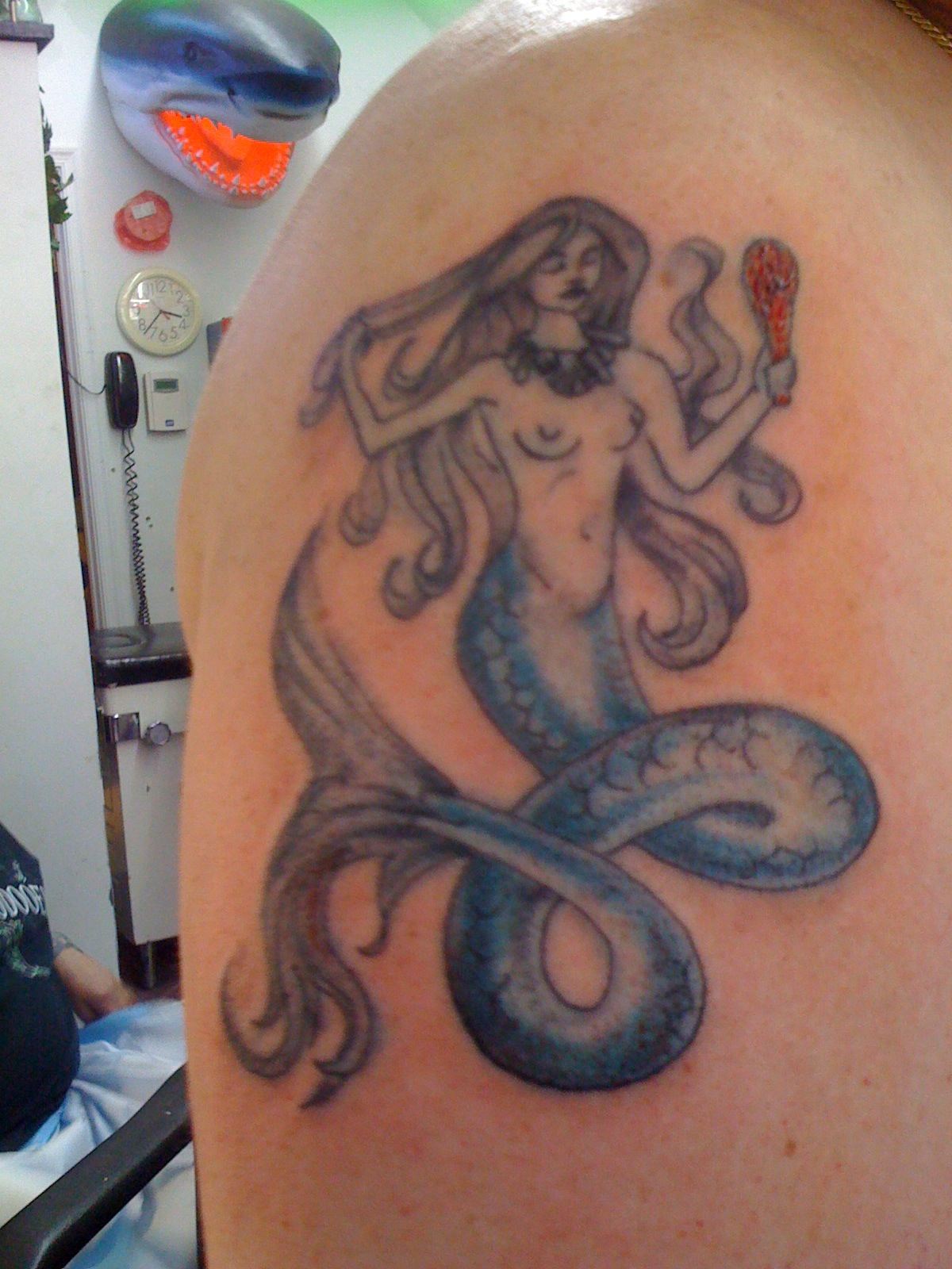 A Tale of Mermaid Tattoos